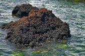 Seaside rock formation — Stock Photo