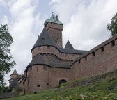 Haut-Koenigsbourg Castle — Stock Photo