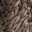Stock Photo: Plaited bag closeup