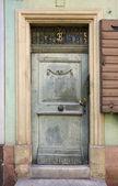 Door in Freiburg im Breisgau — Stock Photo