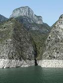 Mountains along the Yangtze River — Stock Photo