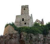 Wertheim Castle on rock formation — Stock Photo