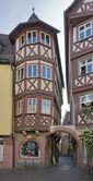 Wertheim Old Town in Germany — Stock Photo