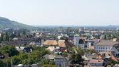 Aerial view of Freiburg im Breisgau — Stock Photo