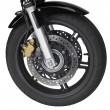 Motorbike front wheel — Stock Photo #7297570
