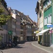 Freiburg im Breisgau street scenery — Stock Photo