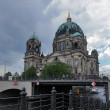Berlin Cathedral and river Spree — Stock Photo