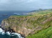 Rocky coastal scenery at the Azores — Stock Photo