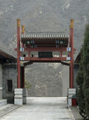Gate near the Great Wall of China — Stock Photo
