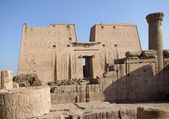 Around Edfu Temple of Horus — Stock Photo