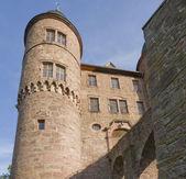 Wertheim Castle detail in sunny ambiance — Stock Photo