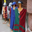 Mediaeval tunics — Stock Photo