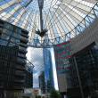 around potsdamer platz in berlin — Stock Photo