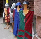 Mediaeval tunics — Stock Photo