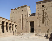 Temple of Isis detail — Stock Photo