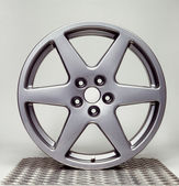 Wheel rim in grey back — Foto Stock