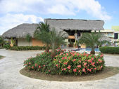 Holiday resort at Dominican Republic — Stock Photo