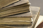 Stack of historic books — Stock Photo
