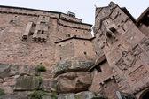 Haut-Koenigsbourg Castle in France — Stock Photo