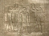 Relief at the Temple of Kom Ombo — Stock Photo