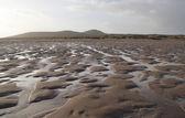 Bumpy ebb tide scenery — Stock Photo