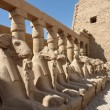 Precinct of Amun-Re in Egypt — Stock Photo