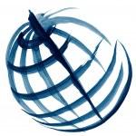 Globe illustration sketch — Stock Photo #7345057