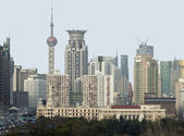 Shanghai city view — Stock Photo