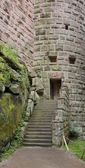 Entrance at the Haut-Koenigsbourg Castle — Stock Photo