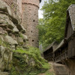 Haut-Koenigsbourg Castle at Alsace — Stock Photo