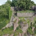Idyllic scenery around Wertheim Castle — Stock Photo