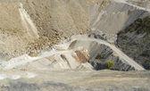 Quarry scenery — Stock Photo