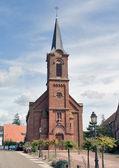 Church im Mittelbergheim — Stock Photo