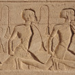 Stock Photo: Relief at Abu Simbel temples