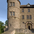 Wertheim Castle detail at summer time — Stock Photo