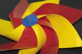 Färgglada vind rullar — Stockfoto