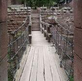 Passage at Haut-Koenigsbourg Castle — Stock Photo