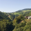 Stock Photo: Panoramic Black Forest scenery