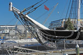 USS Constitution detail — Stock Photo