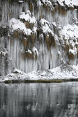 Lots of icicles — Stock Photo