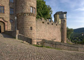Wertheim Castle detail at summer time — Fotografia Stock