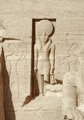 Abu Simbel temples — Stock Photo
