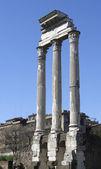 Temple of Vespasian columns — Stock Photo