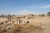 Precinct of Amun-Re in Egypt — Stock Photo