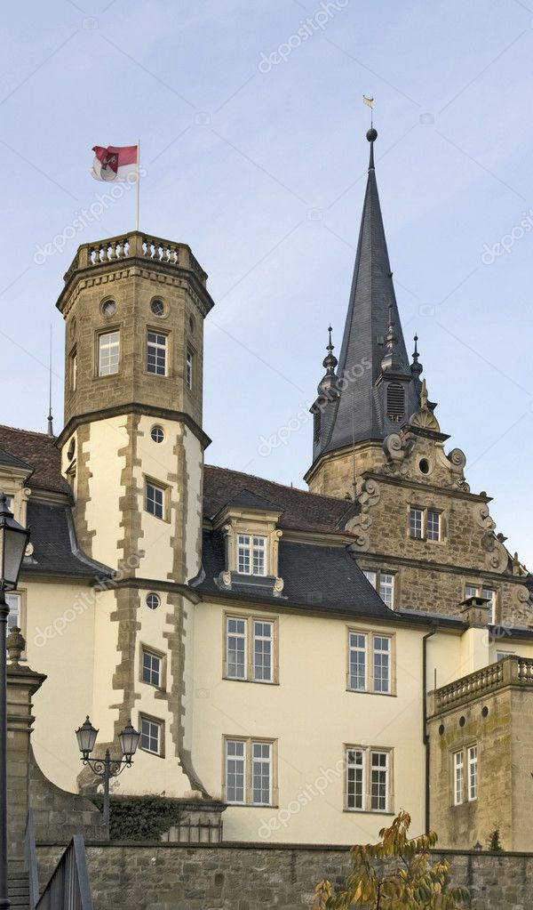 Detail of the castle in Öhringen (Southern Germany) — Stock Photo #7397146