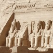 Stock Photo: Abu Simbel temples in Egypt