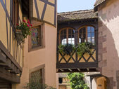 Architectural detail in Alsace — Stock Photo