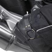 Biker boots detail — Stock Photo