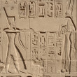 Relief at Precinct of Amun-Re — Stockfoto