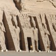 Abu Simbel temples in Egypt - Stock Photo